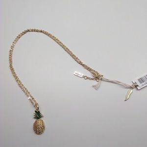 Jessica Simpson New Pineapple Necklace